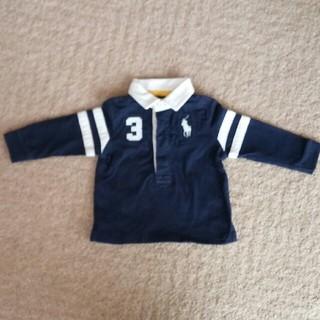 ラルフローレン(Ralph Lauren)のラルフローレン 長袖ポロシャツ 70(シャツ/カットソー)