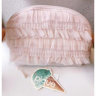 ジェラートピケ(gelato pique)のチュールポーチ(ポーチ)