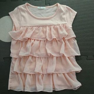 ジーユー(GU)のGU フリル Tシャツ(Tシャツ/カットソー)