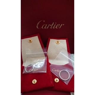 カルティエ(Cartier)のCartier バレリーナ♥️プラチナ ペアリング(リング(指輪))