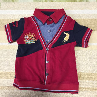 ラルフローレン(Ralph Lauren)のbaby polo ポロシャツ(シャツ/カットソー)