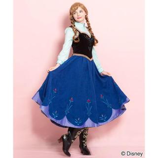 シークレットハニー(Secret Honey)のシークレットハニー 雪山アナ ドレス ワンピース ビスチェセット(衣装)