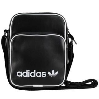 アディダス(adidas)の即日発送 新品アディダスオリジナルス黒レザー革ミニショルダーバッグ(ボディバッグ/ウエストポーチ)