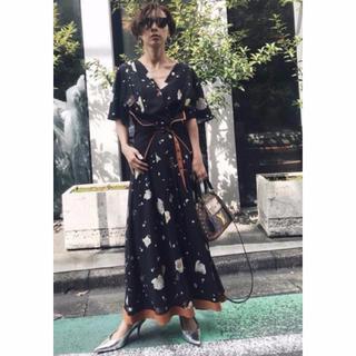 アメリヴィンテージ(Ameri VINTAGE)のAMY BELL DRESS アメリ ヴィンテージ ミックス M(ロングワンピース/マキシワンピース)