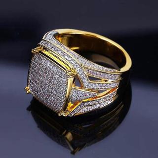 AAAランク ダイヤモンドcz リング 指輪 ゴールド(リング(指輪))
