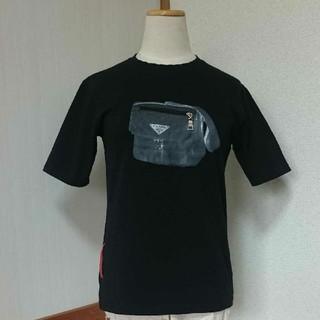 プラダ(PRADA)のPRADA トップス(Tシャツ(半袖/袖なし))