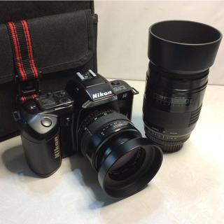 ニコン(Nikon)のニコン F-401 ダブルズーム カメラバックセット(フィルムカメラ)
