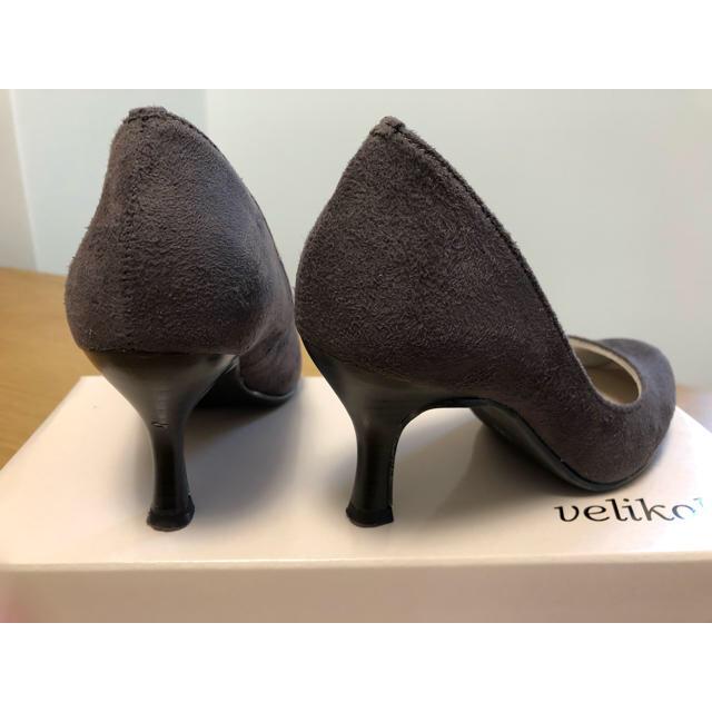 velikoko(ヴェリココ)のヴェリココ ラクチンきれい洗練ヒールパンプス レディースの靴/シューズ(ハイヒール/パンプス)の商品写真