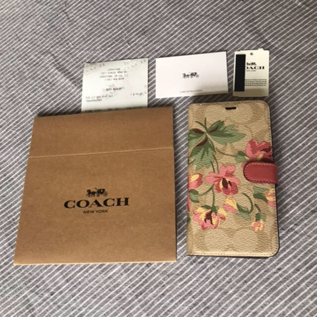 COACH - コーチ COACH 新品 シグネチャー フラワー iPhone XR ケースの通販 by rockytintin's shop|コーチならラクマ