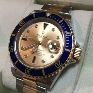 ロレックス(ROLEX)のロレックス サブマリーナデイト 16613SG M番 美品 付属品完備(腕時計(アナログ))
