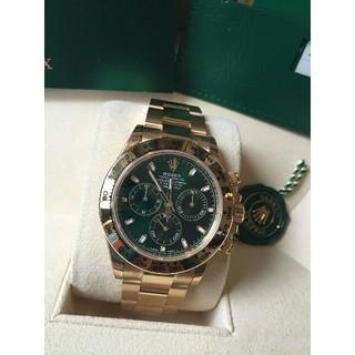 ロレックス(ROLEX)のROLEX ロレックス コスモグラフ デイトナ 116508 グリーン(腕時計(アナログ))