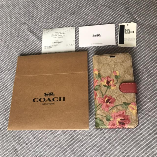 COACH - コーチ COACH 新品 シグネチャー フラワー iPhone X ケースの通販 by rockytintin's shop|コーチならラクマ
