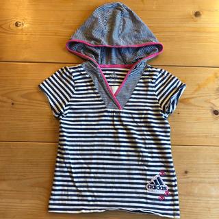 アディダス(adidas)のadida ボーダーTシャツ(Tシャツ/カットソー)