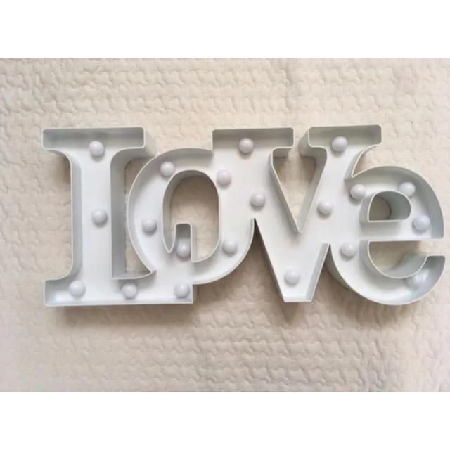Francfranc(フランフラン)のフランフラン Love ライト インテリア/住まい/日用品のライト/照明/LED(その他)の商品写真
