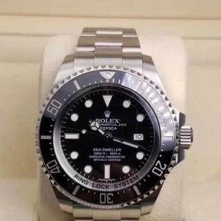 ロレックス(ROLEX)の シードゥエラー ディープシー SS 黒 ブラック ロレックス116660 (腕時計(アナログ))