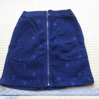 ジーユー(GU)のGU  デニムスカート 150(スカート)