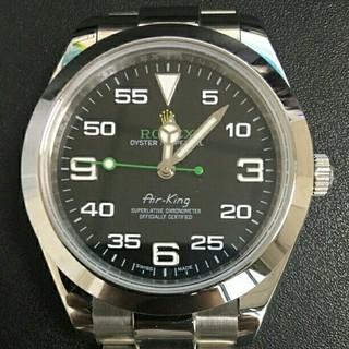 ロレックス(ROLEX)のロレックス エアキング ランダムシリアル ルーレット 116900 腕時計 (腕時計(アナログ))