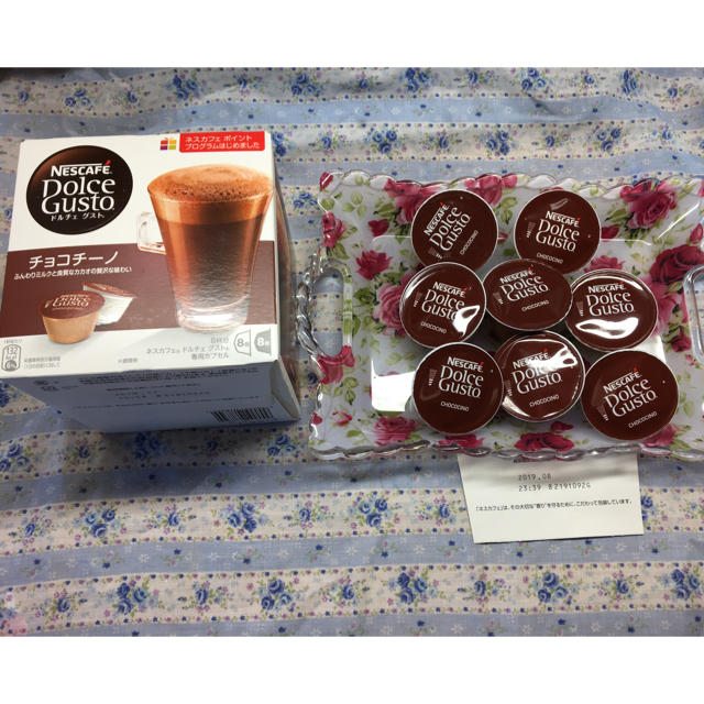 Nestle(ネスレ)のチョコチーノ8杯  +4杯 食品/飲料/酒の飲料(コーヒー)の商品写真