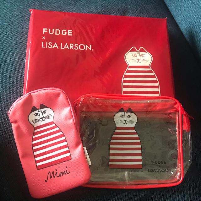 Lisa Larson(リサラーソン)のFUDGE  5月号 レディースのファッション小物(ポーチ)の商品写真