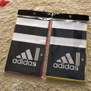 アディダス(adidas)の未開封♪  adidas  ハンカチ  2枚(その他)