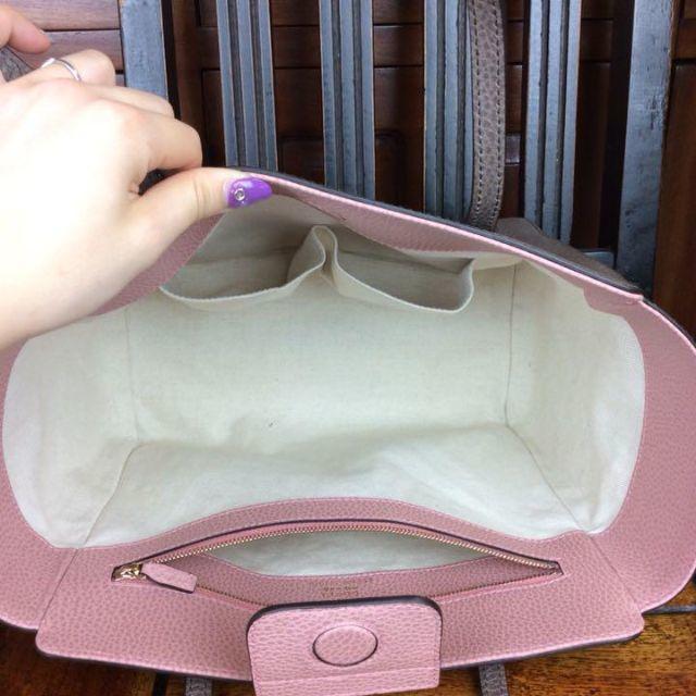 Gucci(グッチ)のグッチ トートバッグ スウィングライン グレージュ ピンク A94150 レディースのバッグ(トートバッグ)の商品写真