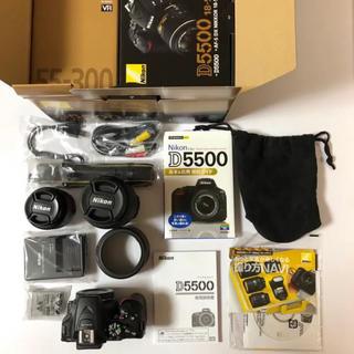 Nikon - NIKON D5500 ダブルズームキット