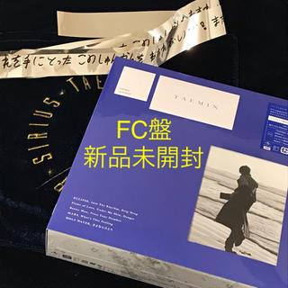 シャイニー(SHINee)のFC限定盤 TAEMIN CD アルバム 銀テ SHINee テミン(アイドルグッズ)