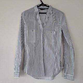ZARA - 未使用 ZARA ストライプシャツ