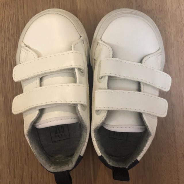 babyGAP(ベビーギャップ)のbabyGAP 新品スニーカー 12.5cm キッズ/ベビー/マタニティのベビー靴/シューズ(~14cm)(スニーカー)の商品写真