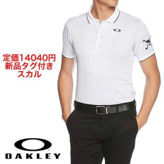 Oakley - XL 早い者勝ち‼️新品 オークリー スカル ゴルフ 半袖 ポロシャツ