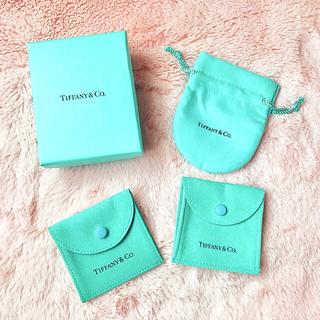 ティファニー(Tiffany & Co.)のTIFFANY BOX×専用小袋 3セット♡ほぼ新品 ティファニー(小物入れ)