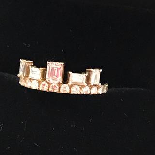アーカー(AHKAH)のティアラリリアン様お取り置き 型 イエローゴールド18金ダイヤモンドリング11号(リング(指輪))