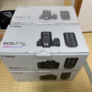 Canon デジタル一眼レフEOS Kiss X9i ダブルズームキット 4台