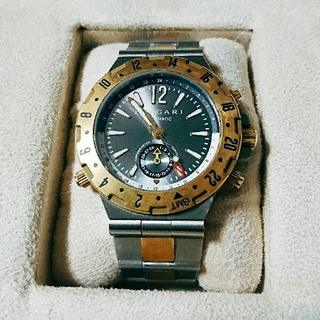 c47688ace4a0 ブルガリ(BVLGARI)の腕時計ブルガリ ディアゴノ スクーバ GMT40SG(腕時計(アナログ))