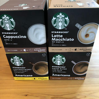 Starbucks Coffee - ☺︎ネスレ ドルチェグスト スタバ カプセル 4箱set☺︎