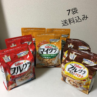 カルビー(カルビー)の7袋 カルビー フルグラ、マイグラ セット(米/穀物)