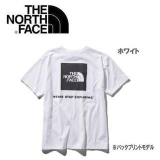 ザノースフェイス(THE NORTH FACE)のTHE NORTH FACE ノースフェイス スクエアロゴTシャツ ホワイト L(その他)