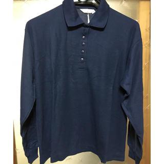 ジーユー(GU)の新品★ ネイビー ポロシャツ(ポロシャツ)