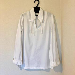 ドリスヴァンノッテン(DRIES VAN NOTEN)のDORIES VAN NOTEN 白シャツ(シャツ/ブラウス(長袖/七分))