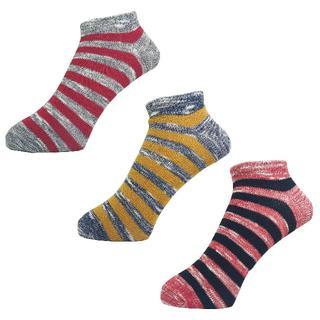 ディッキーズ(Dickies)のディッキーズメンズソックス靴下「スラブボーダー」3PACK 1046 新品(ソックス)