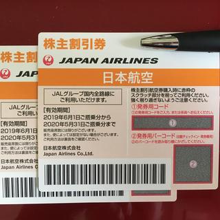 ジャル(ニホンコウクウ)(JAL(日本航空))のJAL(日本航空) 株主優待券(航空券)