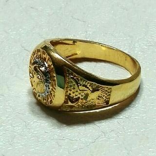 獅子 リングゴールド(新品未使用)(リング(指輪))
