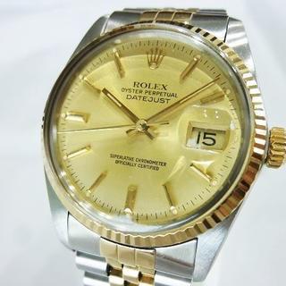 ロレックス(ROLEX)のロレックス 16013 ギャラ付き デイトジャスト OH済 稼働品(腕時計(アナログ))