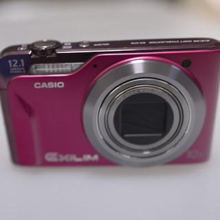 カシオ(CASIO)のCASIO デジカメ ex-h10 ピンク(コンパクトデジタルカメラ)