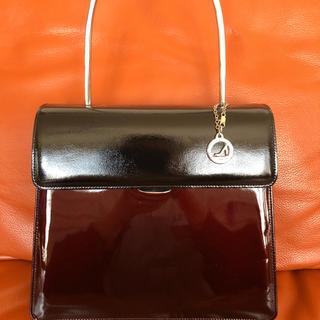 ギンザカネマツ(GINZA Kanematsu)の綺麗  銀座かねまつ パテントレザー  ハンドバッグ(ハンドバッグ)