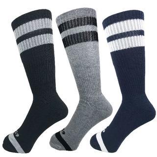 アルファ(alpha)のアルファメンズソックス靴下「1959ロゴパイル」3PACK 1033 新品(ソックス)