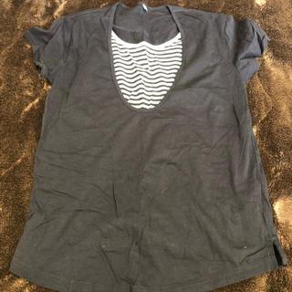 ムジルシリョウヒン(MUJI (無印良品))のTシャツ 授乳服(マタニティトップス)