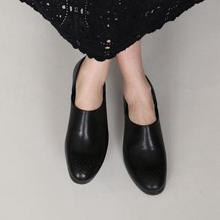 ショセ(chausser)のMUKAVA chausser ショセ ムカヴァ メダリオン シューズ(ローファー/革靴)