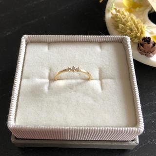 エテ(ete)のete  k18 ダイヤモンドリング 7号(リング(指輪))