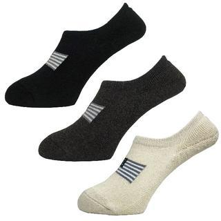 アルファ(alpha)のアルファメンズソックス靴下「モノクロ星条旗」3PACK 1052 新品(ソックス)